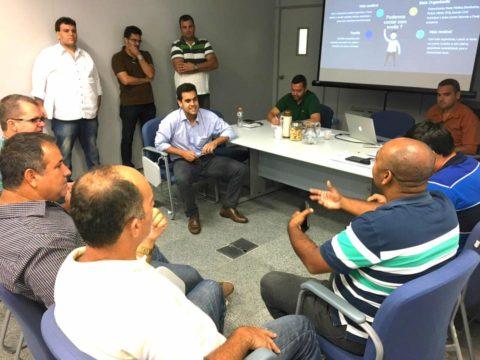 Equipe reunida em Farol (Foto: divulgação facebook)