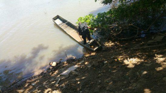 Buscas no Rio Paraíba do Sul Foto: divulgação Polícia Militar