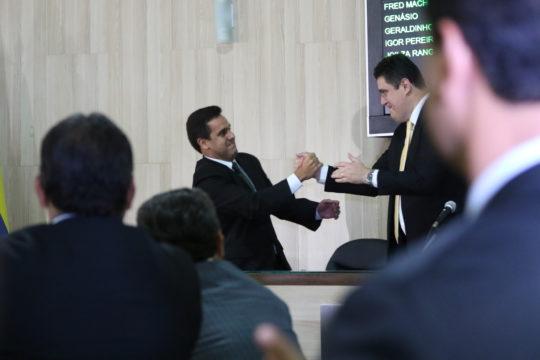 Rafael Diniz e Marcão (Foto: Carlos Grevi)