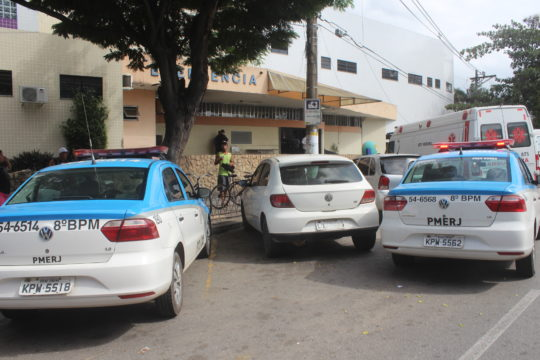 Vítimas estão internadas no HFM (Foto: Silvana Rust/Arquivo)
