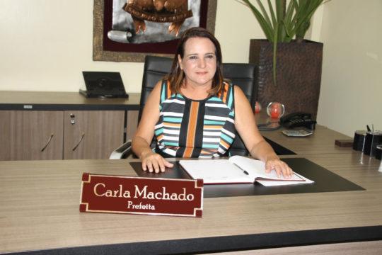 A prefeita de SJB, Carla Machado, destaca que tem buscado parcerias com a iniciativa privada (Foto: divulgação Secom)