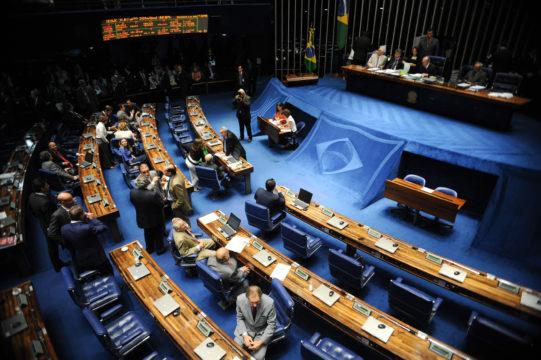 Plenário do Senado (Foto: reprodução)