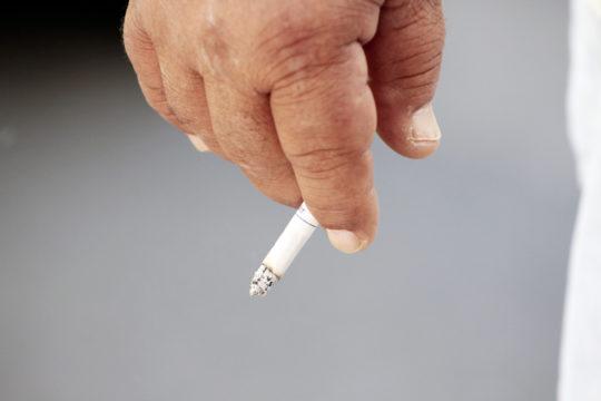 Depois deixar de fumar a saúde