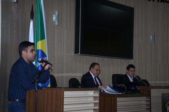 Audiência contou com a participação do secretário municipal de Transparência e Controle (Foto: reprodução/Câmara)