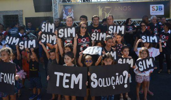 Prefeita Carla Machado participou do lançamento da mobilização (Foto: divulgação-Secom)