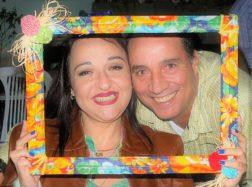Jackie Diel e Marcus Belletti Guzzo em clima de amor e Santo Antonio!