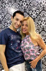 Amigos de sempre! Scheila Siqueira e Paulo Ferreira.