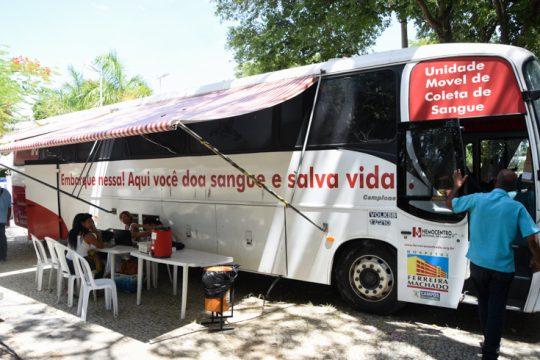 Associação Comercial participa de campanha de Doação de Sangue