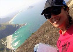 Sonia Guimarães Alves, como ela gosta! Plena de natureza!