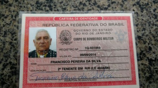 Militar aposentado do bombeiros (Foto: Divulgação)