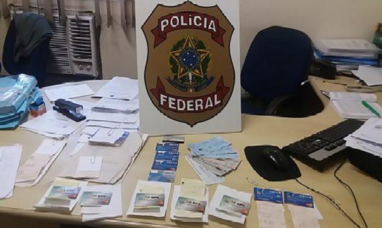 Materiais encontrados durante a operação(Foto: Divulgação)