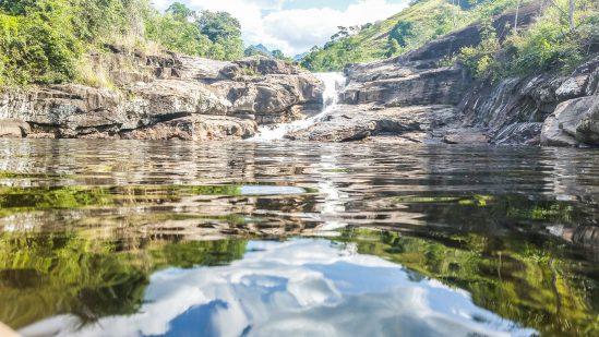 Águas cristalinas compõem o cenário (Foto: reprodução)