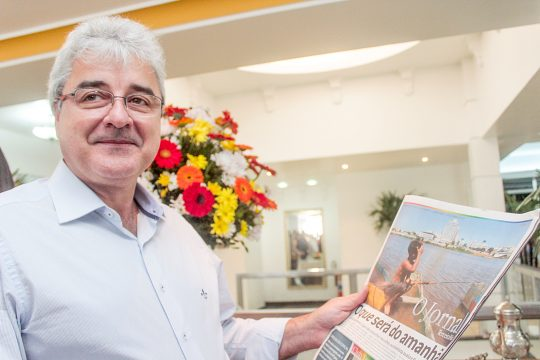 Joílson Barcelos, presidente da CDL. (Foto: Silvana Rust)