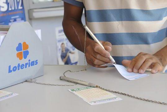Apostas podem ser feitas nas casas lotéricas (Foto: Agência Brasil)