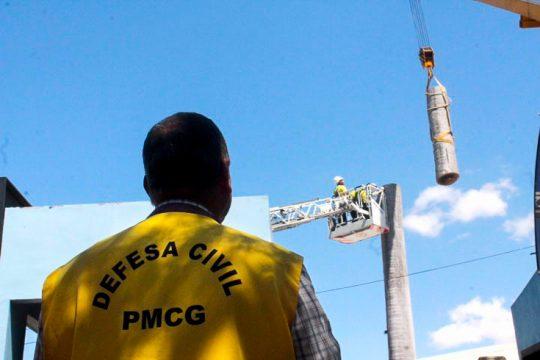 Major Edison acompanhou toda a ação (Foto: Prefeitura de Campos)
