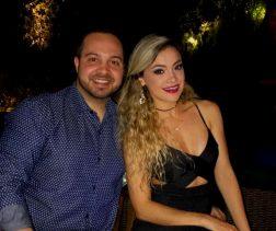 Luis Chrysantho Neves e Renata Pinheiro Artiles Freitas no Club Hippopotamus