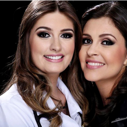 Lindas irmãs Marina e Lívia Barbosa