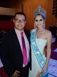Guilherme Giró e a nossa Miss Estado do Rio de Janeiro Mariah Khenayfis