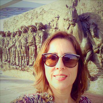 Sonia Guimarães Alves esteve no México - bem na época e perto do terremoto! Voltou ilesa e encantada com as belezas do país!