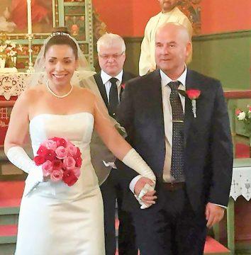Uma campista casando na Noruega -Leandra Machado e Odd Magne Kvalsung - Felicidades!