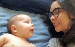 Camila Cruz Maia - conversando com o seu Heitor.