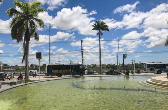 Praça São Salvador (Foto: Supcom)