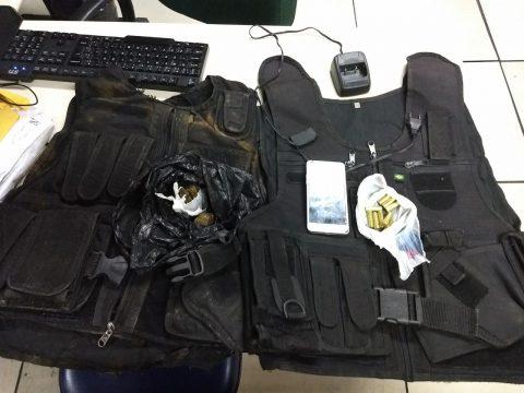 Suspeito foi levado para a 146ª DP de Guarus (Foto: Divulgação)