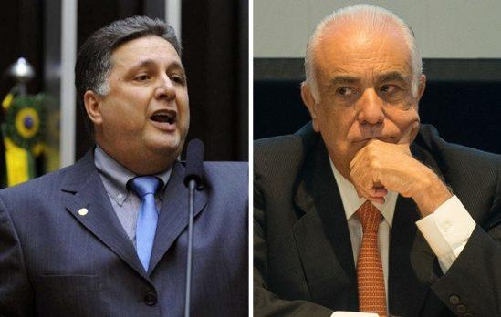 Anthony Garotinho e Antônio Carlos Rodrigues