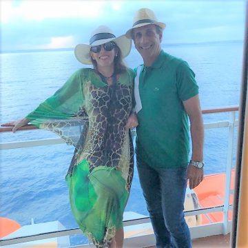 """Kathia e Rogério Quitete """"al mare"""" com amor!"""