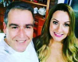 Mauricio Nani e Viviane Amaral comemorando 24 anos de união!