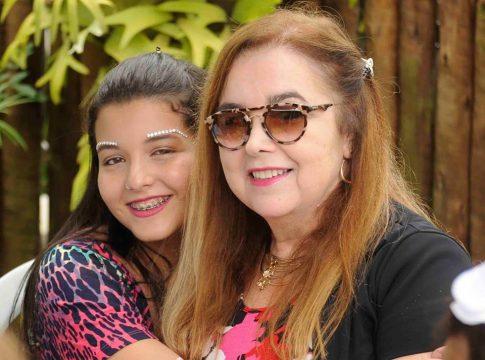 Carol Ribeiro e Sandra Arêas. (por Vilson Correa)