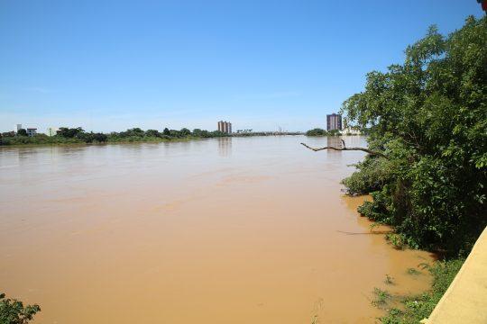 Rio ParaA�ba do Sul (Foto: Silvana Rust)
