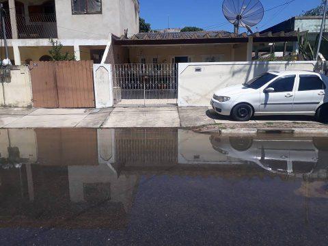 Ruas de Ururaí estão alagadas por conta da cheia do rio (Foto: Divulgação)