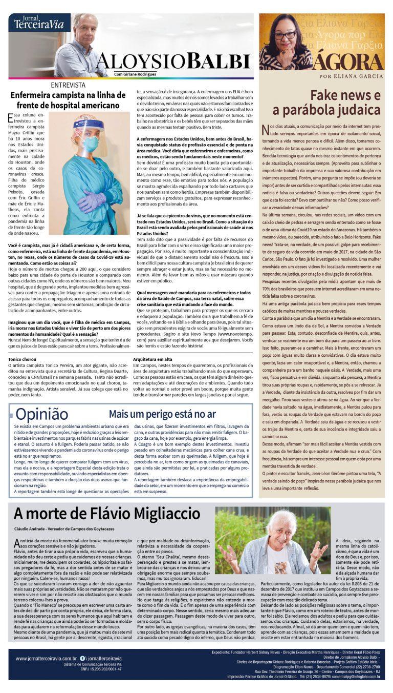 Fake News E A Parabola Judaica Terceira Via Terceira Via
